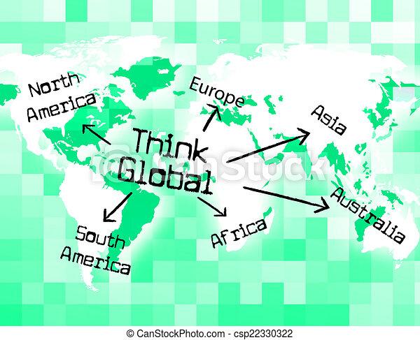globaal betekenis