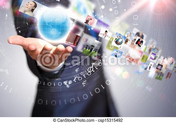 globalização, conceito - csp15315492