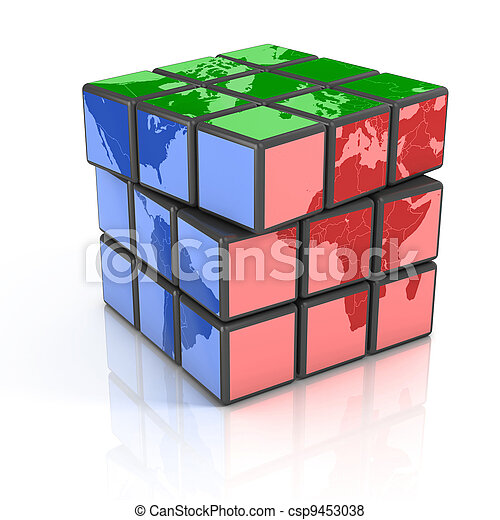 globalization, 世界政治 - csp9453038