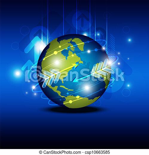globalization, 技術 - csp10663585
