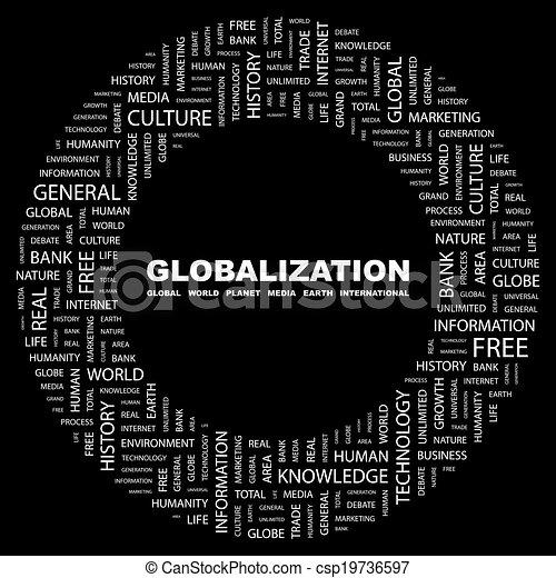 globalization. - csp19736597