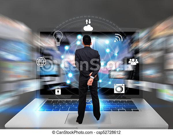 Globalization business communication. - csp52728612