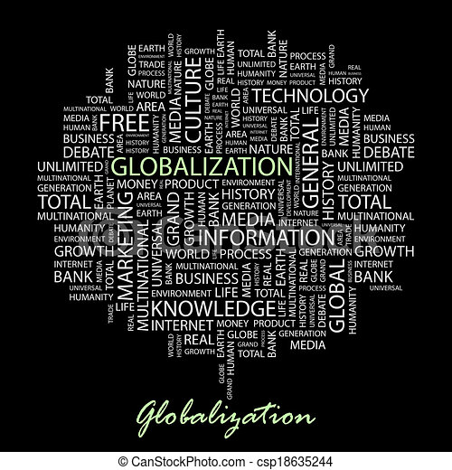 globalization. - csp18635244