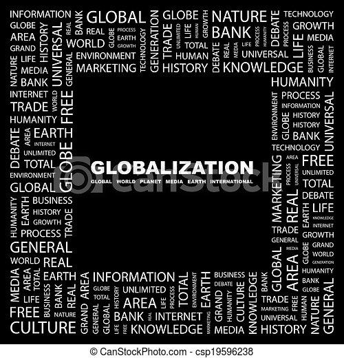 globalization. - csp19596238