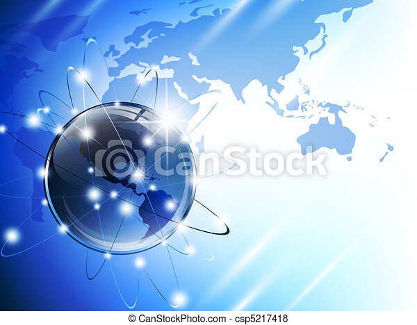 Globe And Map World Map From Nasa Public Domain Http