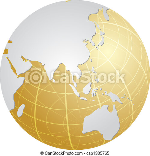 Map Of Uk On Globe.Globe Asia Globe Map Illustration Of The Asia Pacific