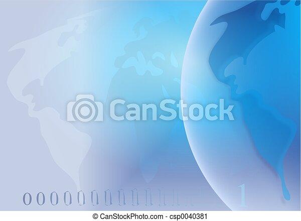 Globe Background - csp0040381