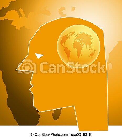 Globe Brain - csp0016318