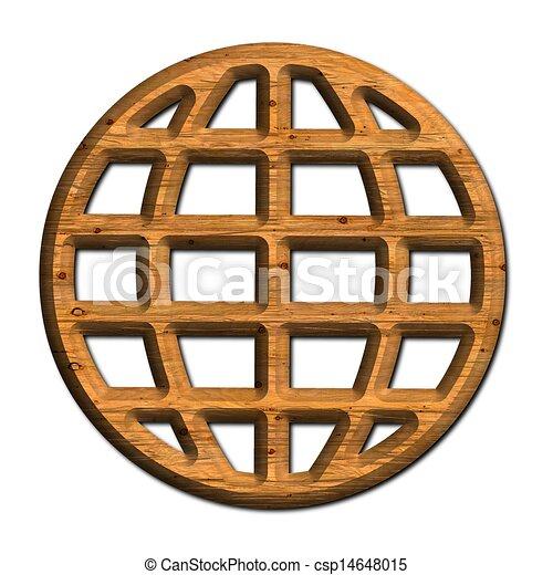 Globe. - csp14648015