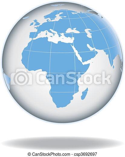 Globe concept icon web internet - csp3692697