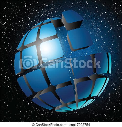 Globe design. - csp17903754
