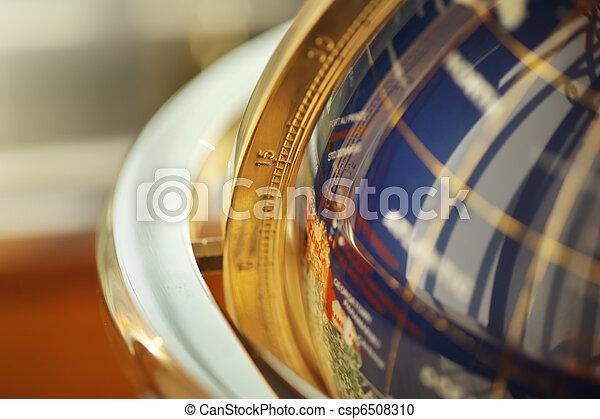 Globe detail - csp6508310