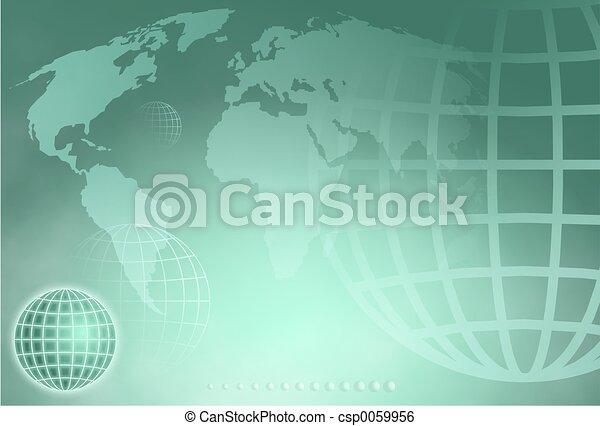 globe, grille - csp0059956