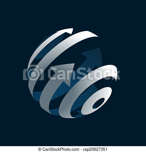 Globe Logo - csp20627351