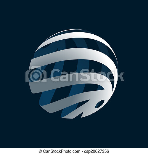 Globe Logo - csp20627356