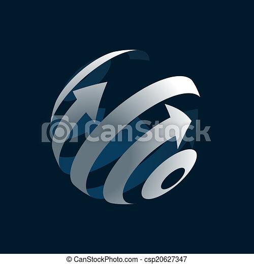 Globe Logo - csp20627347