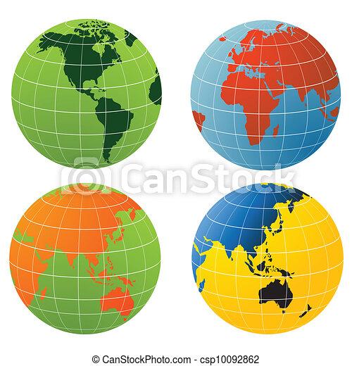 Globe of the World - csp10092862