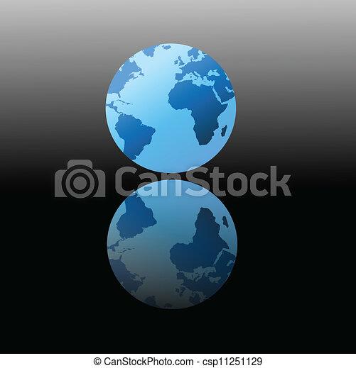 Globe of the World - csp11251129