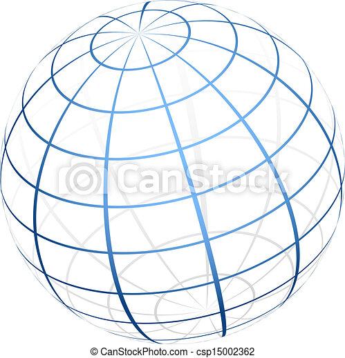 globe, pictogram - csp15002362