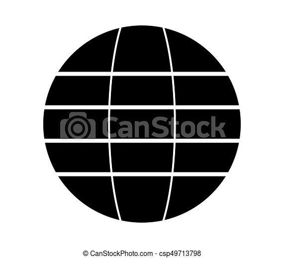 globe, pictogram - csp49713798