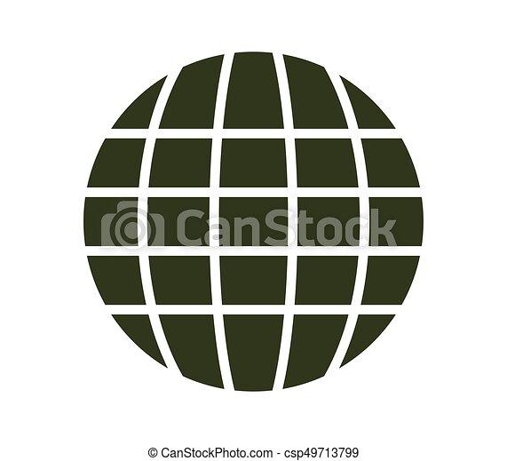 globe, pictogram - csp49713799