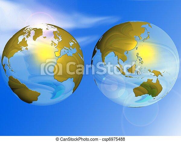 globe - csp6975488