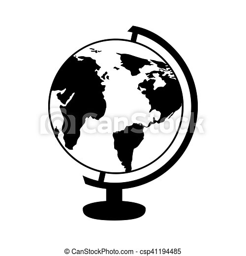 Globe planet isolated icon vector illustration design vector globe planet isolated icon csp41194485 publicscrutiny Choice Image