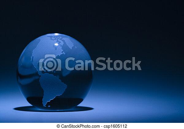 Globe still life - csp1605112