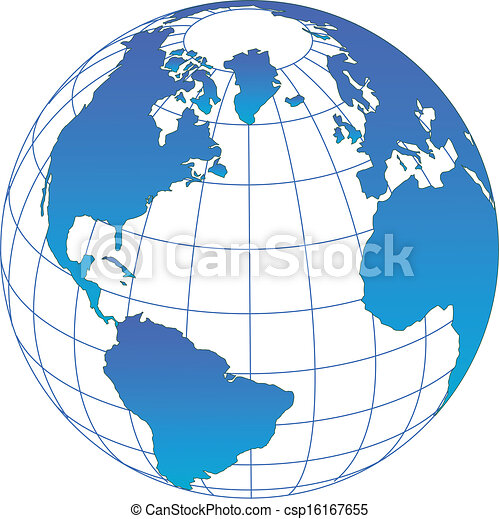 globe, vector - csp16167655