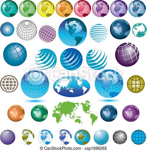 globes, 38 - csp1696265