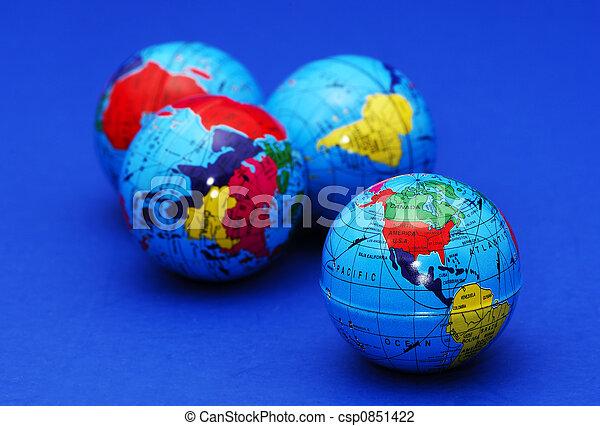 Globes - csp0851422
