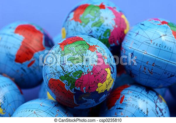 Globes - csp0235810