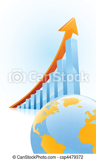 Globl business growth concept - csp4479372