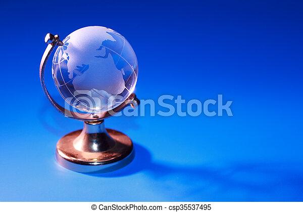 globo blu - csp35537495