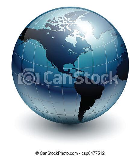 globo de la tierra - csp6477512