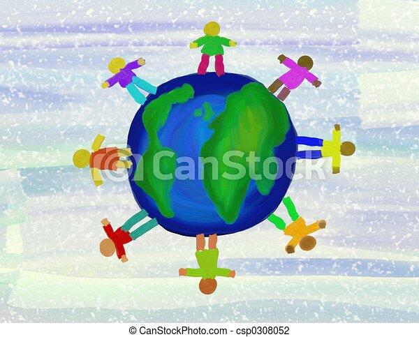 Gente Globe - csp0308052