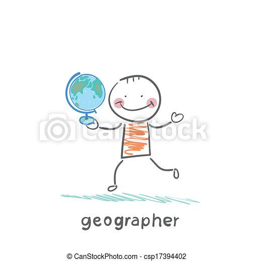 globo, geografo, mani - csp17394402