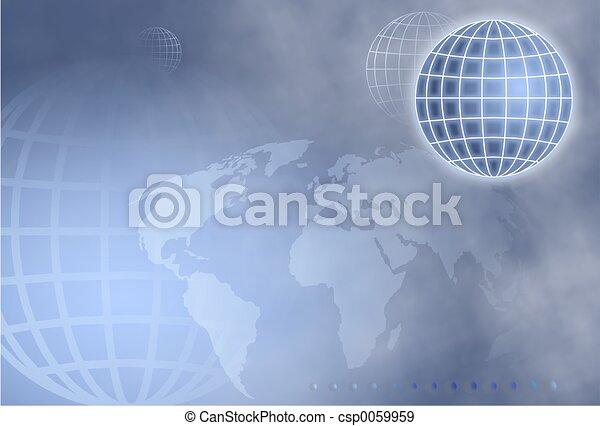 globo, griglia - csp0059959