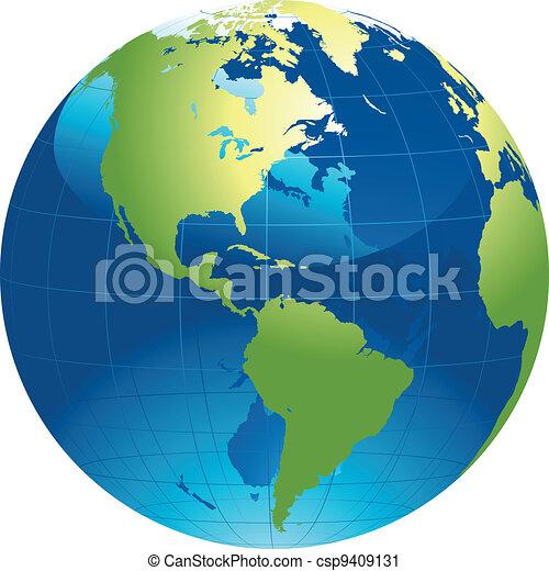 globo mondo - csp9409131