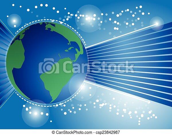 Trasfondo del Globe - csp23842987