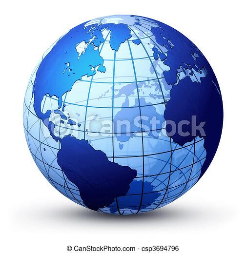 globo terra - csp3694796
