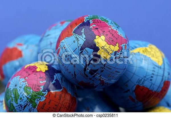 Globes - csp0235811