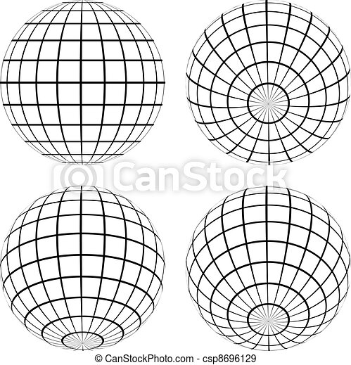 globos, vetorial - csp8696129