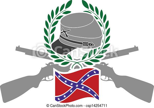 glorie, confederacy - csp14254711