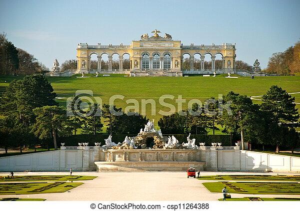 Gloriette, Schonbrunn park, Vienna - csp11264388