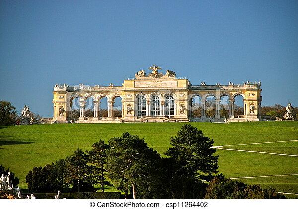 Gloriette, Schonbrunn park, Vienna - csp11264402