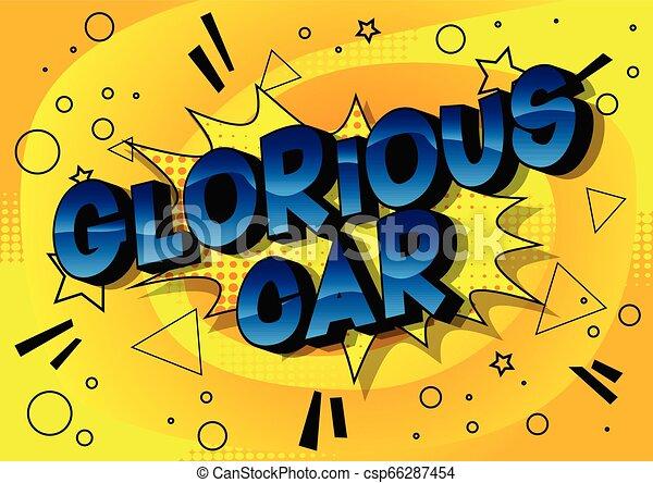 Glorious Car - csp66287454