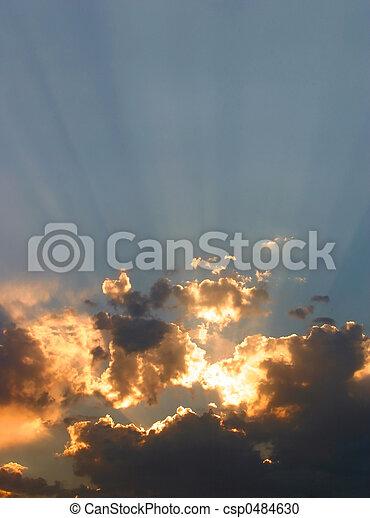 Glorious Sunset - csp0484630