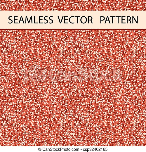 Patrón sin brillo. Un brillo rojo. Antecedentes, textura. Vector - csp32402165