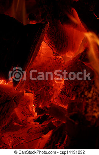 glowing embers - csp14131232